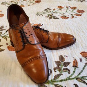 Allen Edmonds Clifton Walnut Size 13D nearly new!